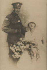 May's wedding, 1917